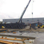 warehouse steel fabrication and installation