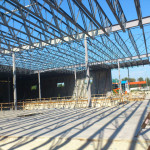 Structural steel for 70,000sq.ft tit up
