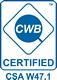 WCB Certification by Canadian Welding Bureau