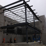 Office and warehouse steel structure
