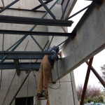 Welding of beams and columns