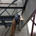 Mobile welding and structural steel erection