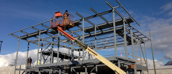 Rosh Metal – Structural Steel Fabrication North Vancouver, BC, Canada for Fortis Muster Station