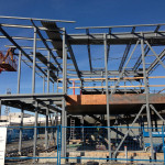 Steel Fabrication of two storey building