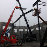 Structural steel fabrication in Richmond