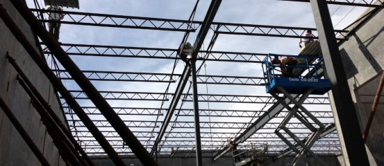 Rosh Metal – Structural Steel Fabrication and Installation of 10,000 sq.ft. Tilt Up in Richmond for Sabi Aulakh (Prism Construction)