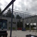 East Newton - Structural Steel Installation