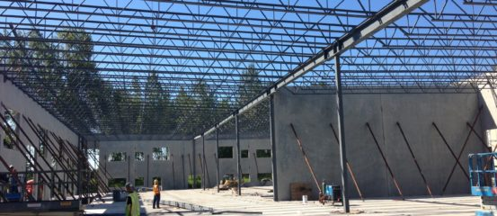 East Newton – Structural Steel Installation for Two Warehouses 30,000 sq.ft and 20,000 sq.ft