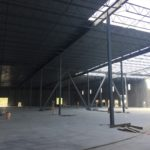 Tilt up industrial warehouse